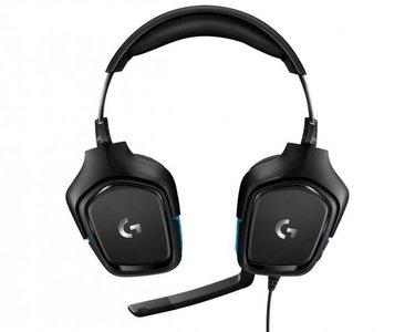 Logitech Słuchawki z mikrofonem G432 Przewodowe, nauszne,
